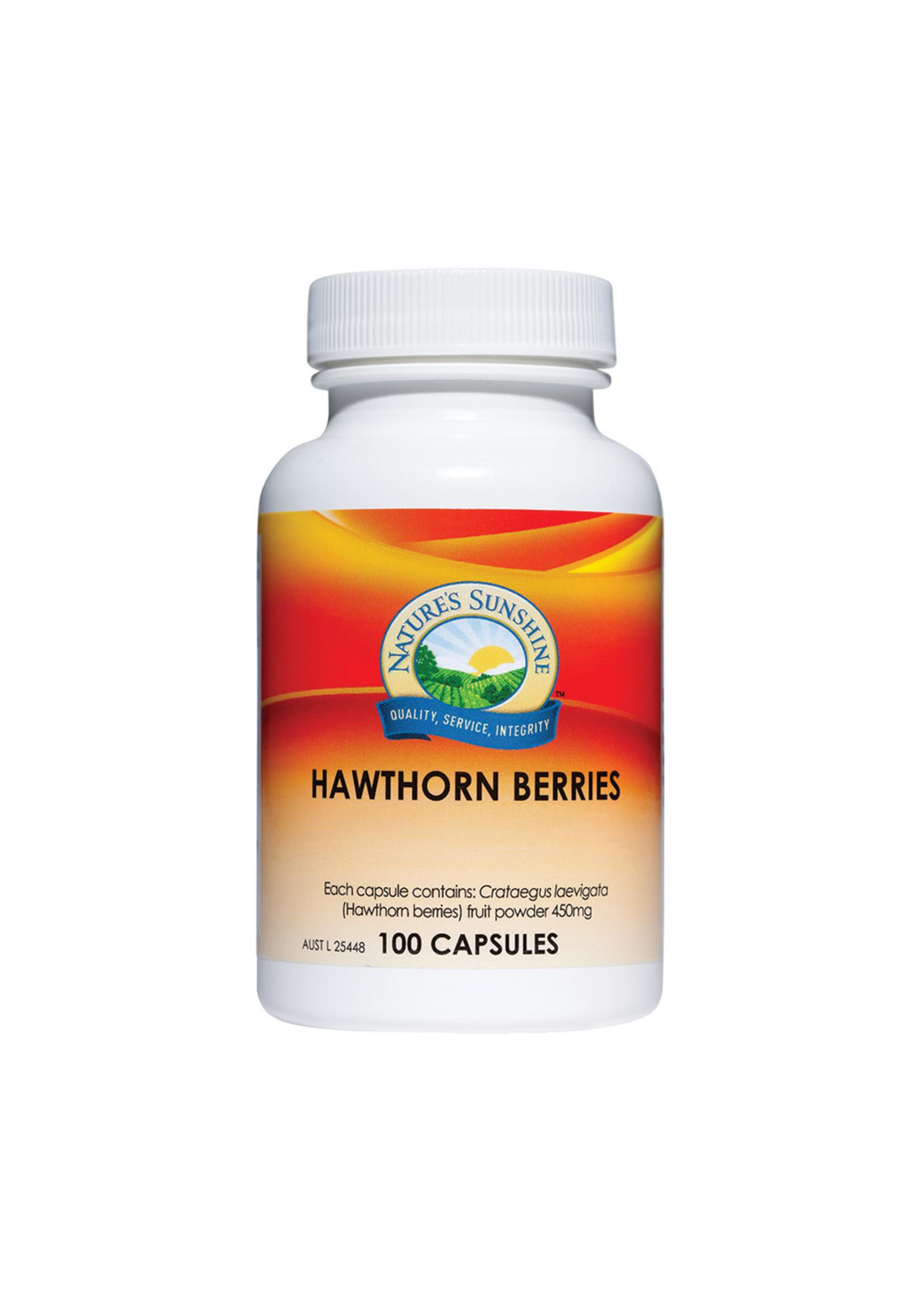 Natures Sunshine Nature's Sunshine Hawthorn Berries - 450mg 100 caps