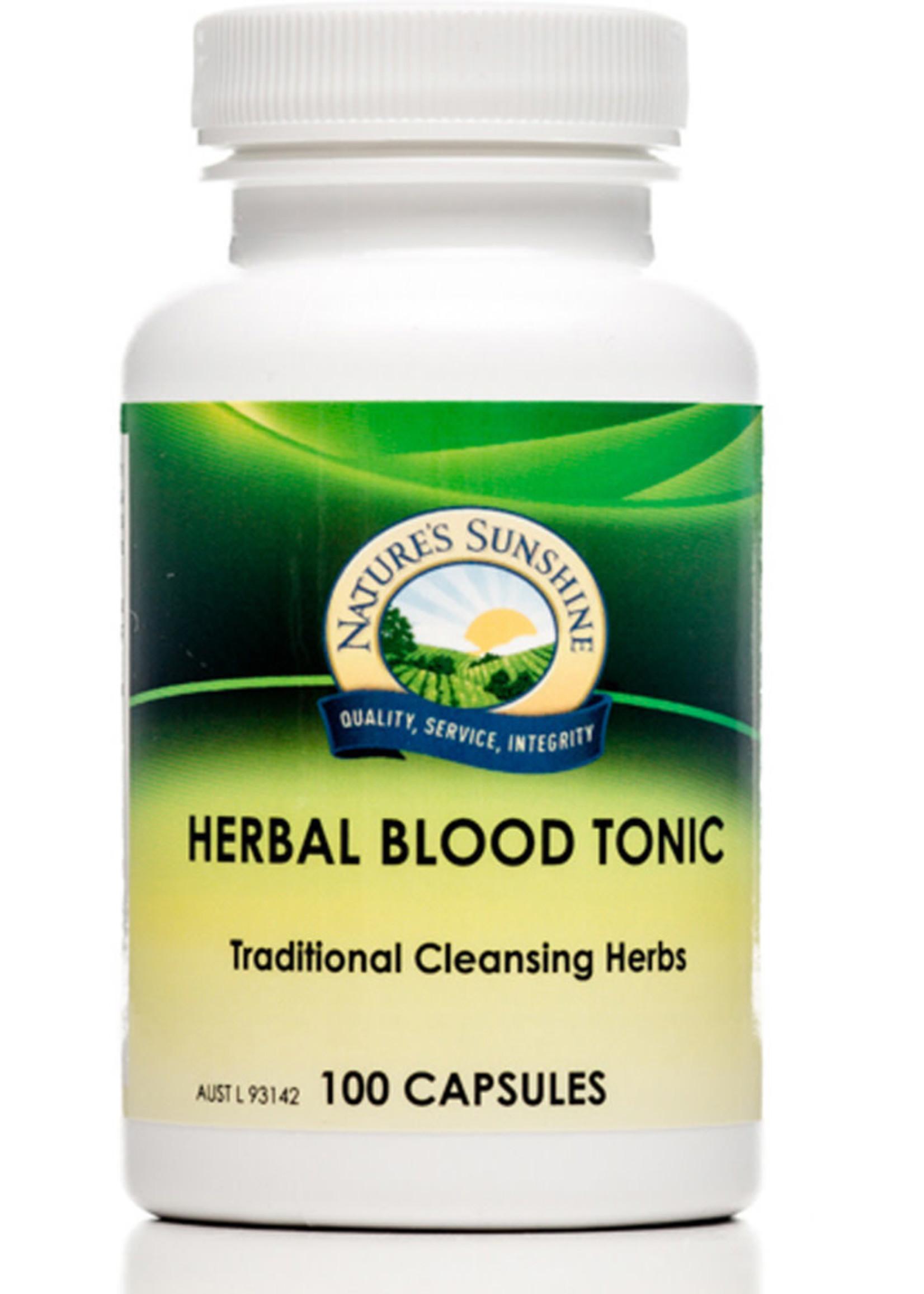Nature's Sunshine Nature's Sunshine Herbal Blood Tonic 100 caps