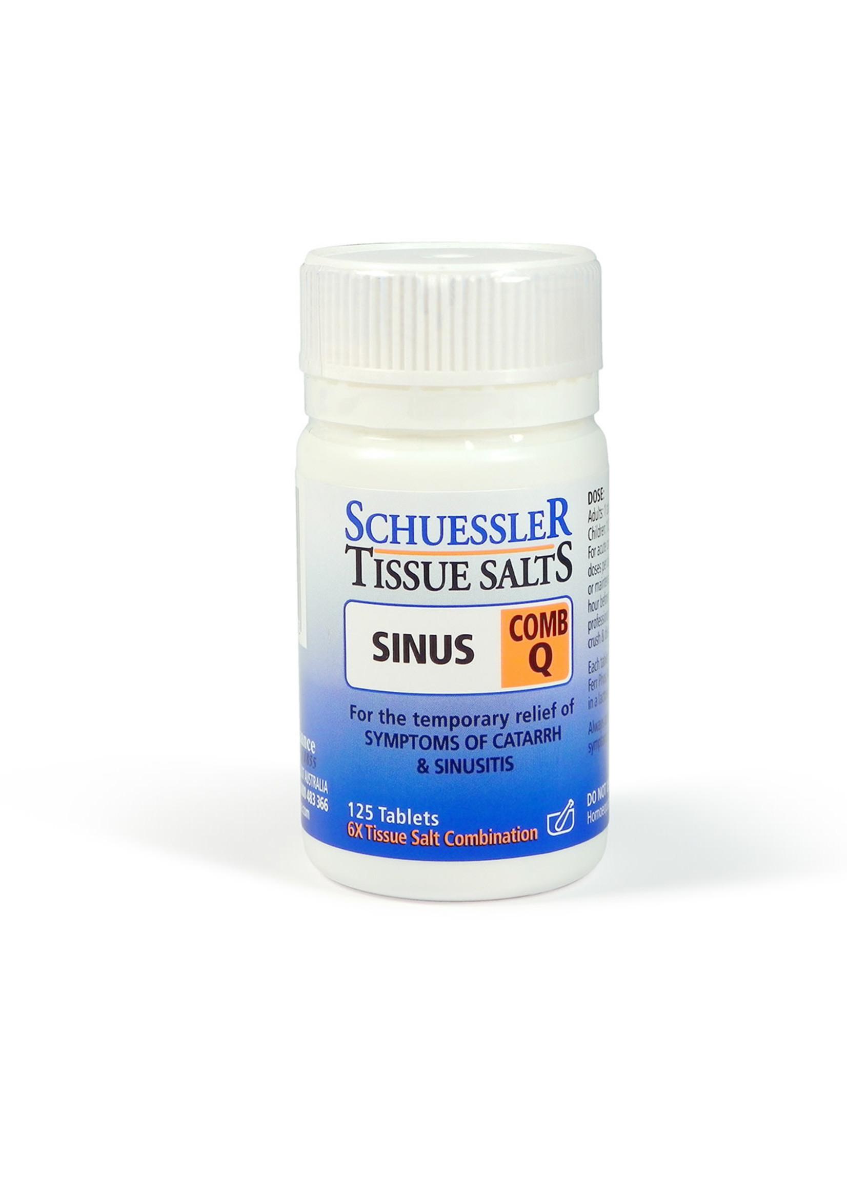 Martin & Pleasance Martin & Pleasance Schuessler Tissue Salts Comb Q 125 Tab