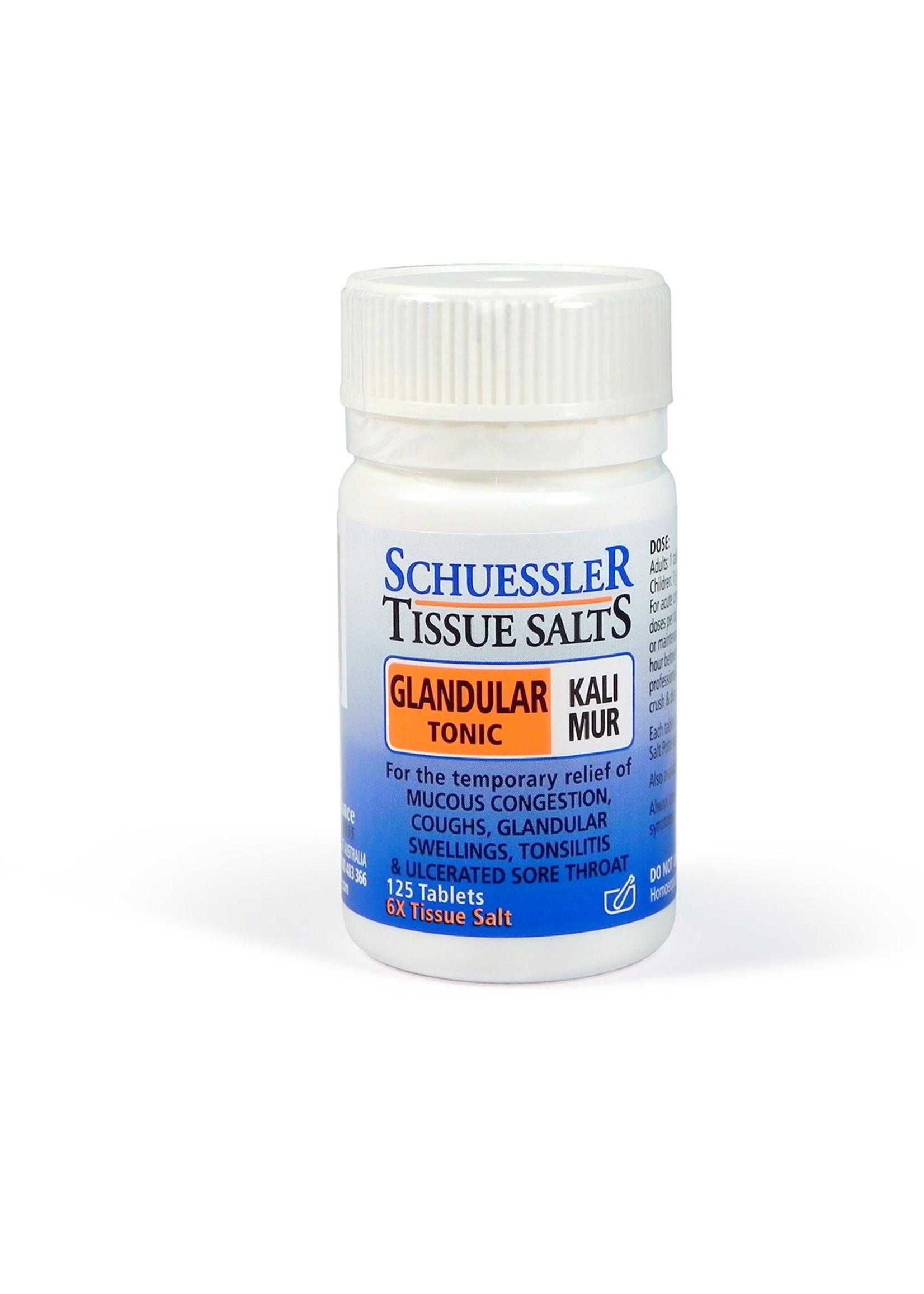 Martin & Pleasance Martin & Pleasance Schuessler Tissue Salts Kali Mur 125 Tab