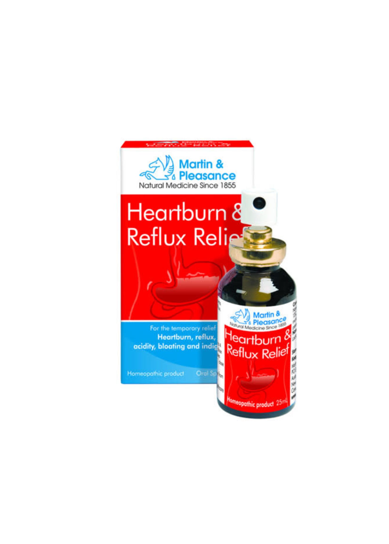 Martin & Pleasance Martin & Pleasance Heartburn  & Reflux Relief Oral Spray 25ml