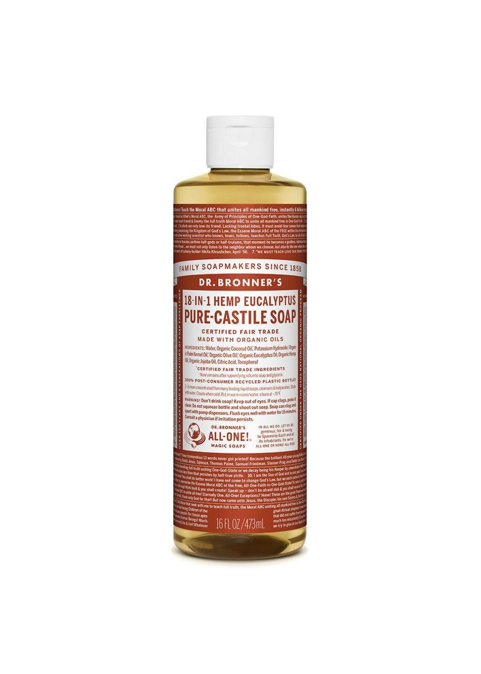 Dr Bronner's Dr Bronner Pure Castille Soap Eucalyptus 473ml