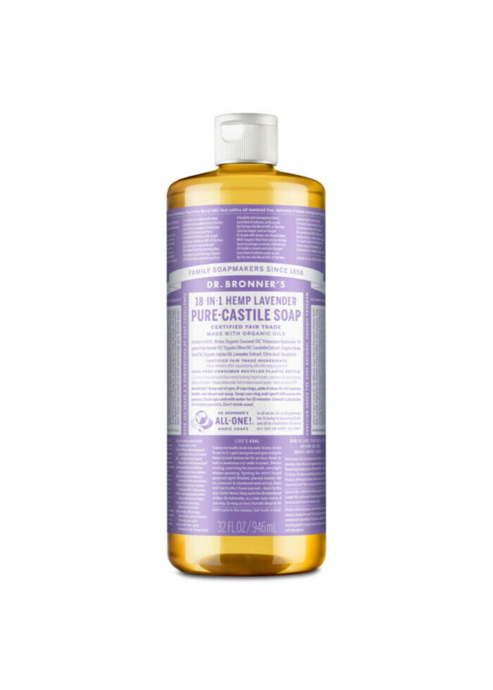 Dr Bronner's Dr Bronner Pure Castille Soap Lavender 473ml