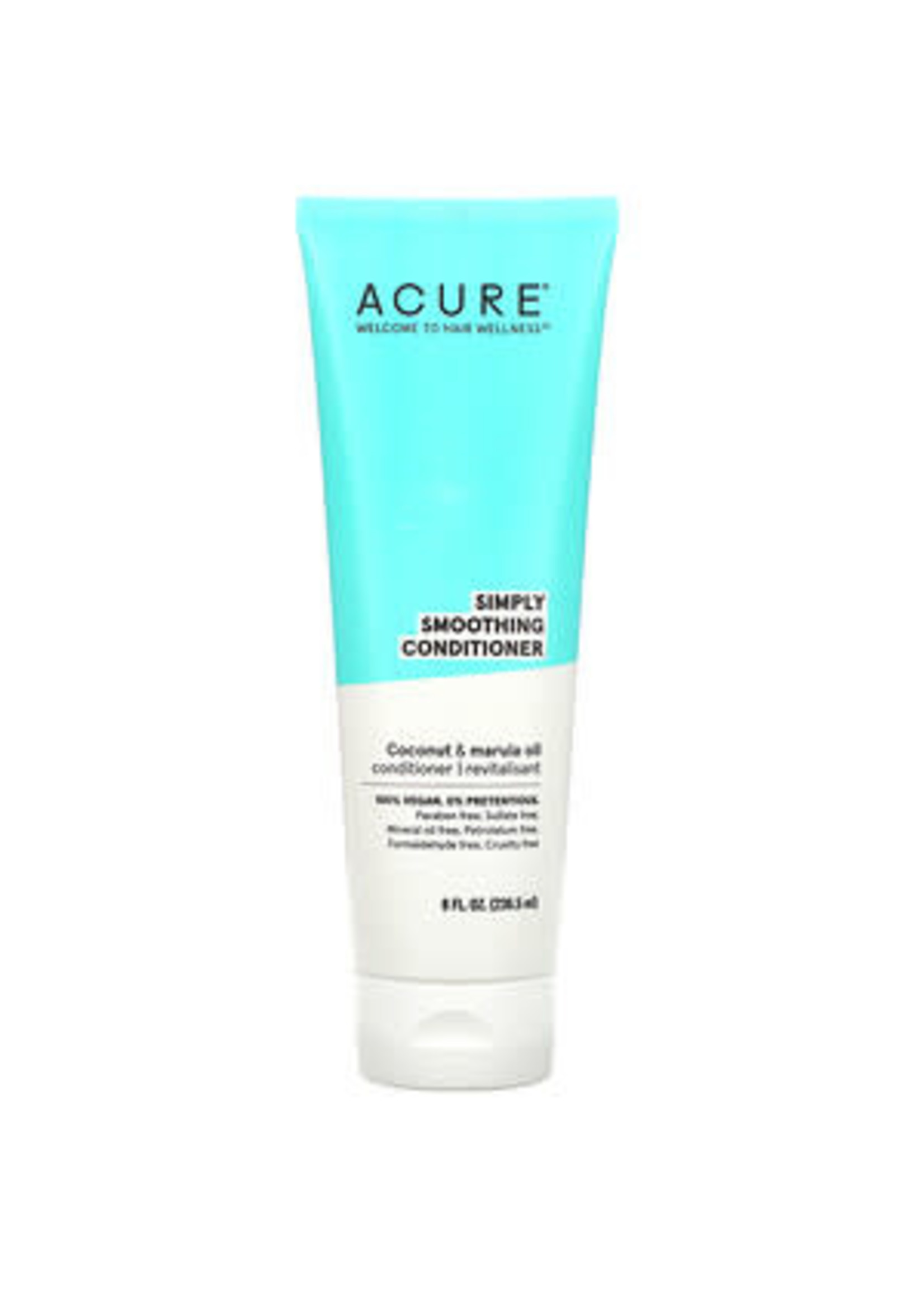 Acure Acure Simply Smoothing Conditioner Coconut & Marula Oil 236mls