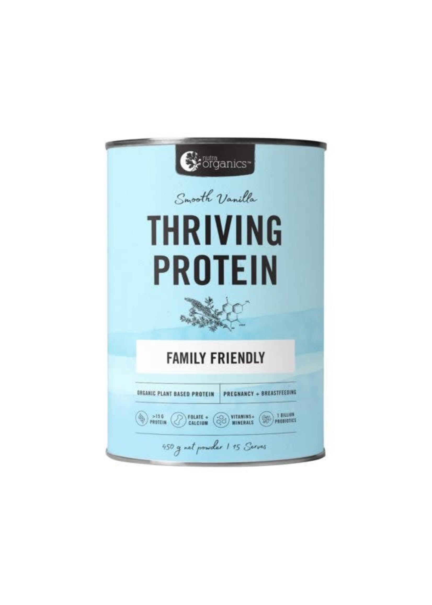 Nutra Organics NutraOrganics Thriving Protein Vanilla 450g