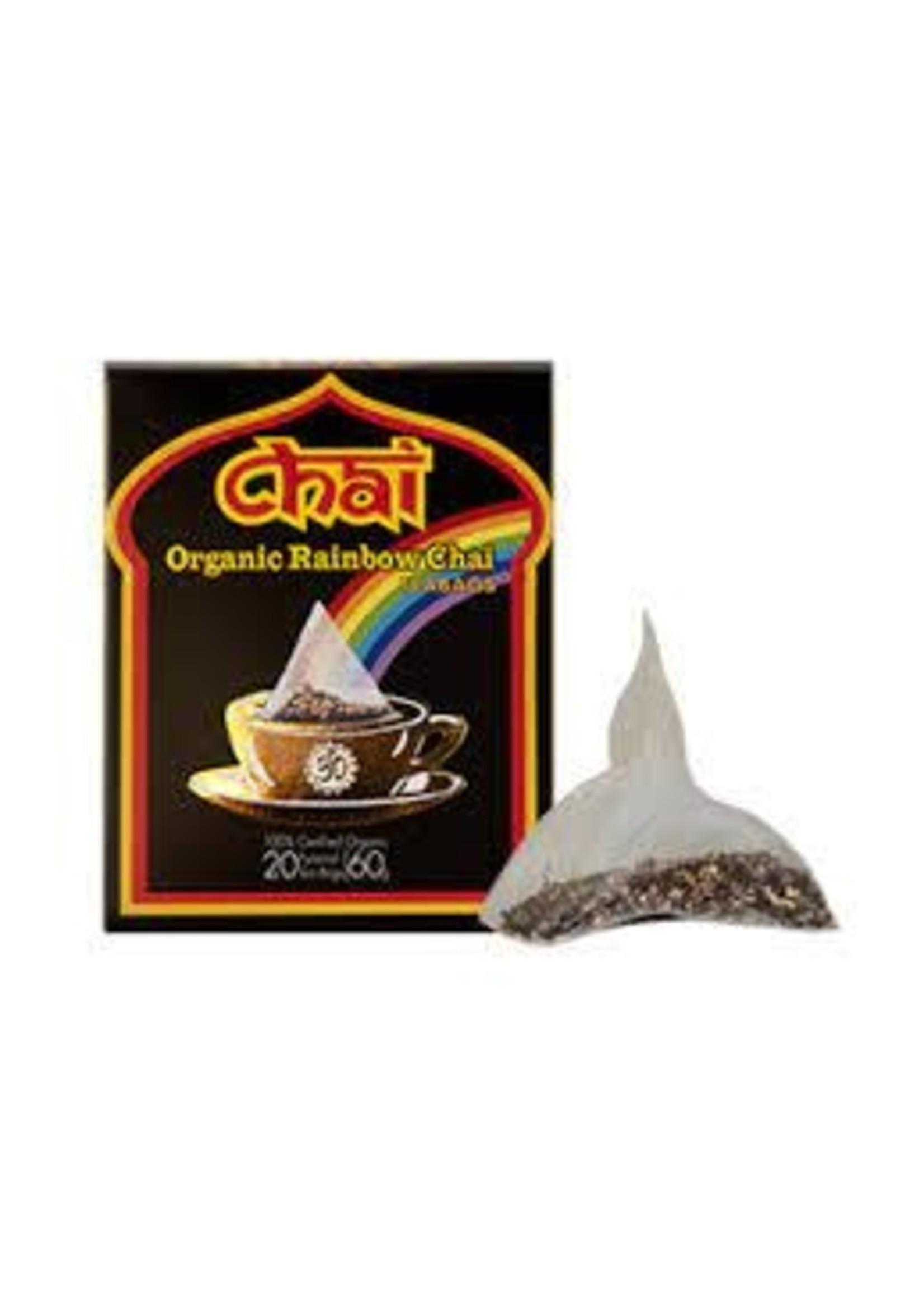 Chai Tea Chai Organic Rainbow Chai 24 tea bags