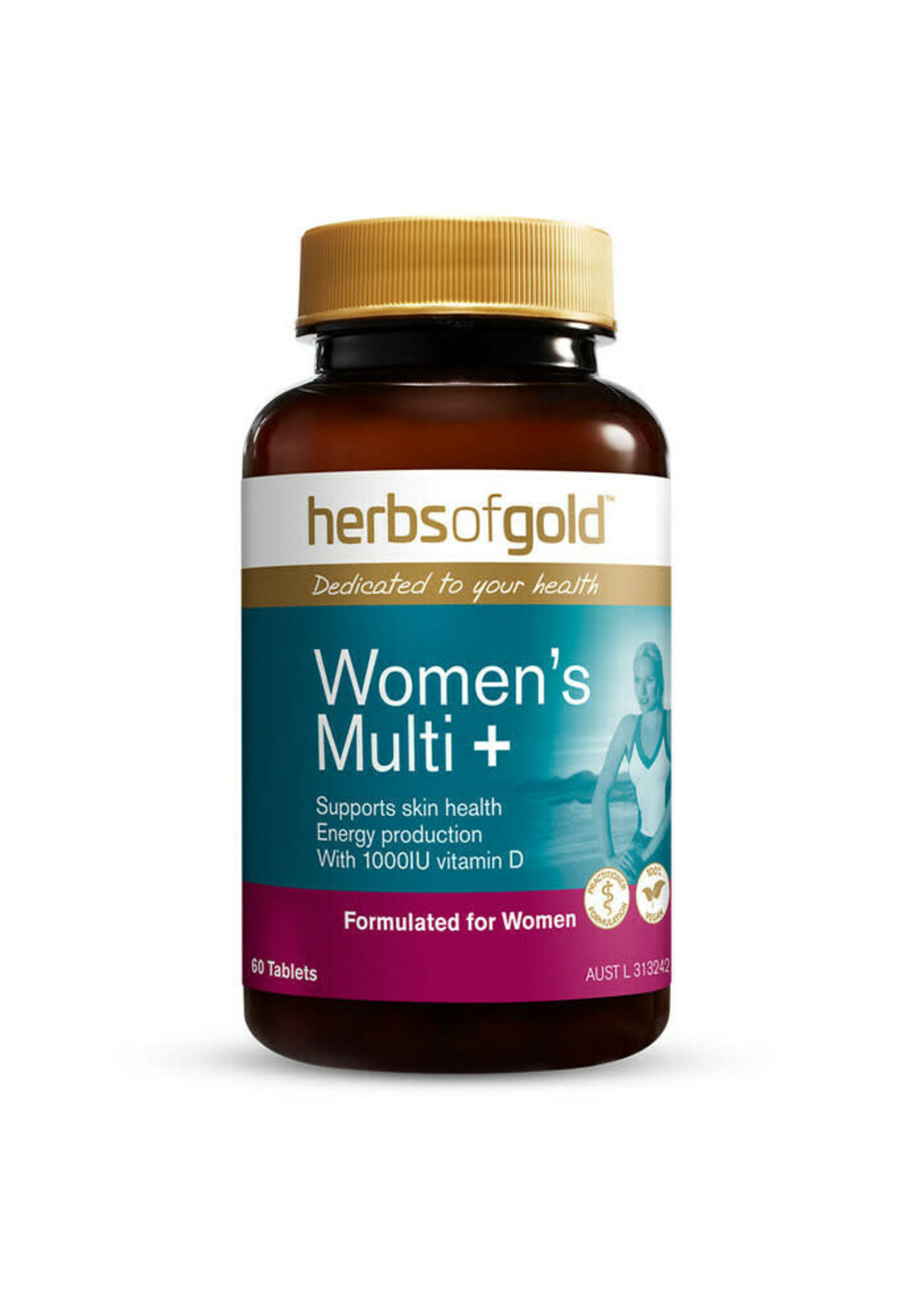 Herbs of Gold Herbs of Gold Womens Multi 30s