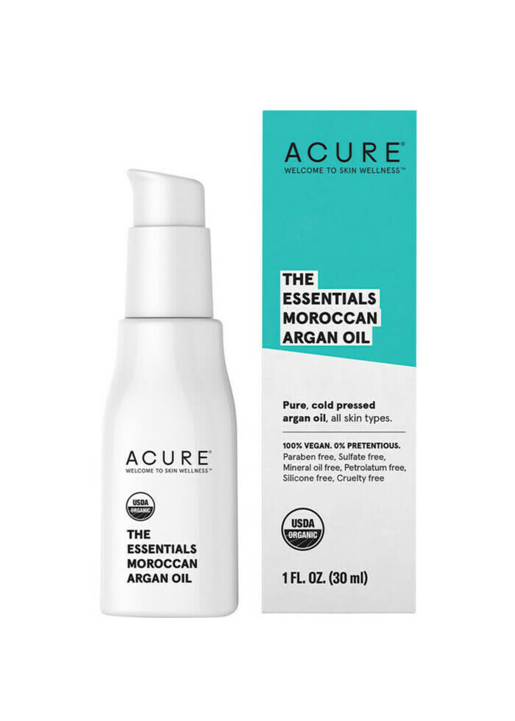 Acure Acure  The Essentials Moroccan Argan Oil 30ml