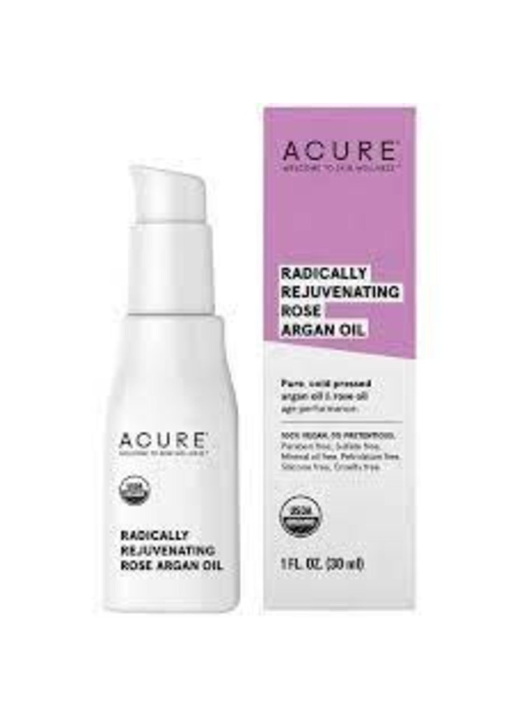 Acure Acure Radically Rejuvinating Rose Argan Oil 30ml