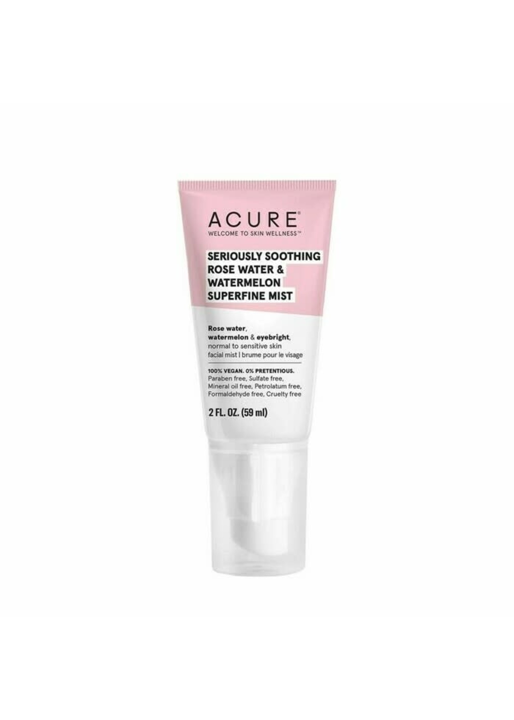 Acure Acure Soothing Rose water and Watermelon Super fine mist 59mls