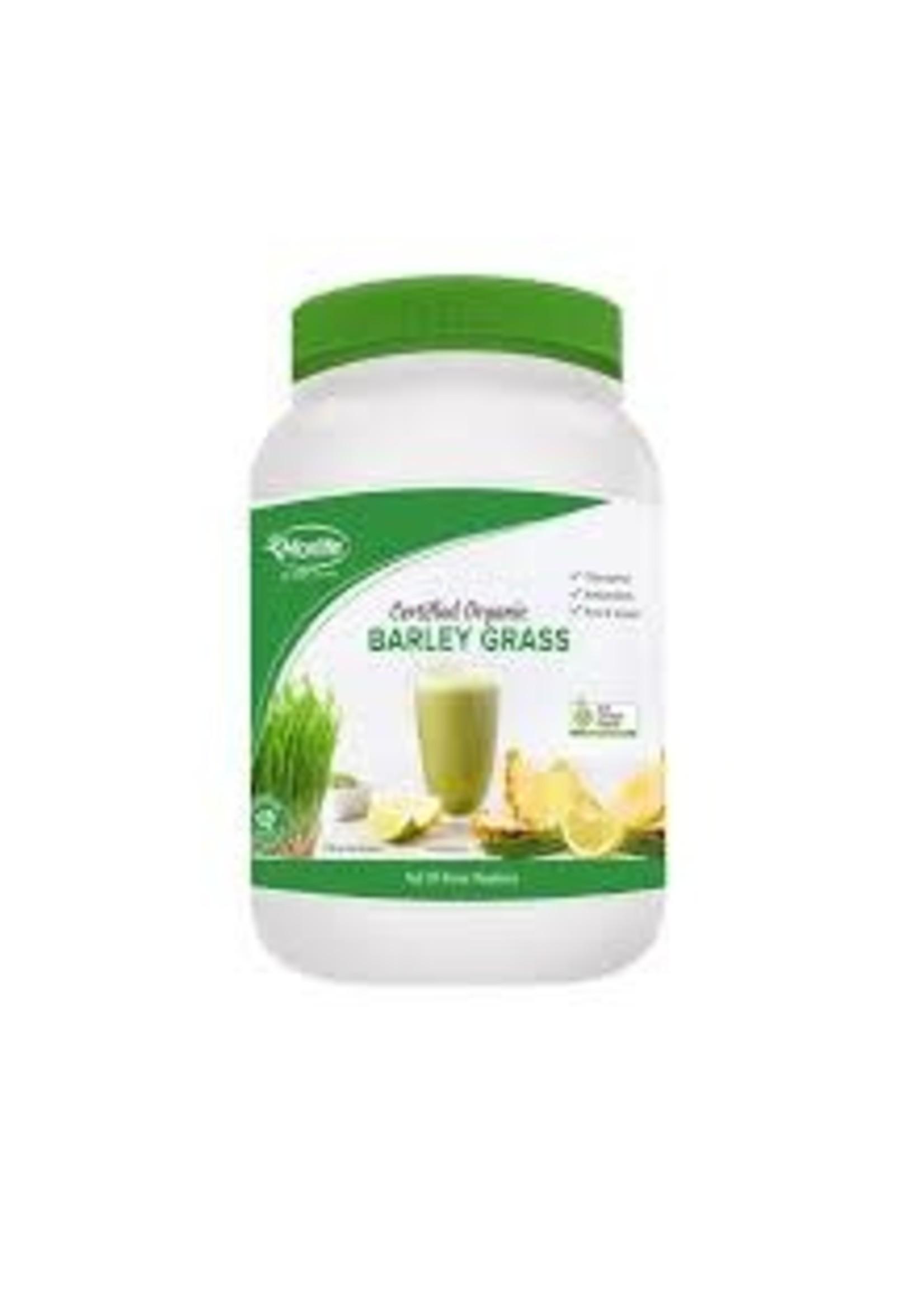 MORLIFE Morlife Barley Grass Powder Cert. Org 1kg jar ACO processor 10620