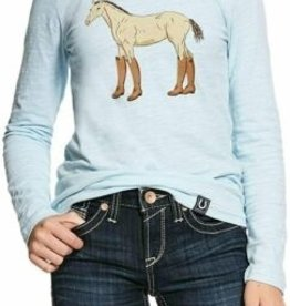 Ariat Girls Boots Long Sleeve T-Shirt