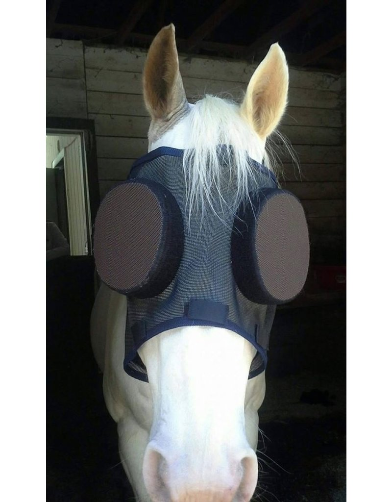 Guardian Horsemask with Removable Eye Covers