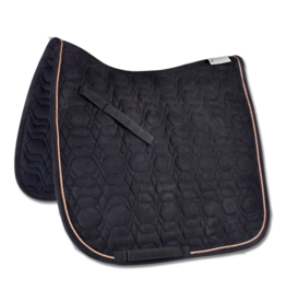 Waldhausen Rose Dressage Pad Black