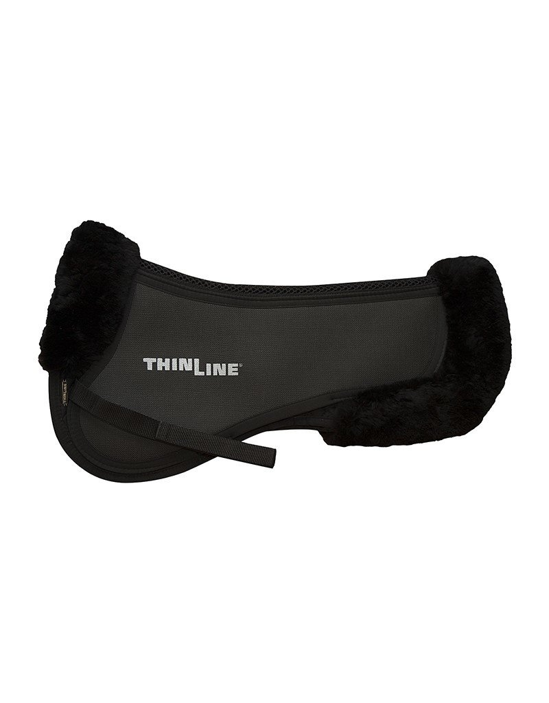 ThinLine LLC Medium Trifecta Cotton Half Pad with Sheepskin