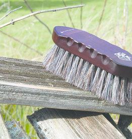 Tail Tamers Wood Series Small Horsehair Brush
