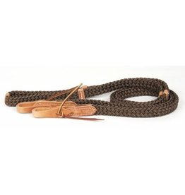 Professionals Choice Quiet Control Reins Brown