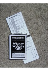 Whinney Widgets Second Level Dressage Test Book