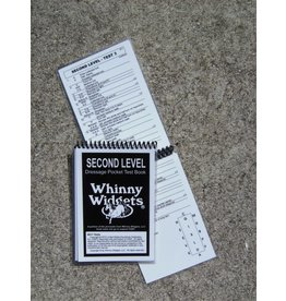 Whinney Widgets Second Level Dressage Test Book