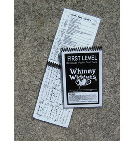 Whinney Widgets First Level Dressage Test Book