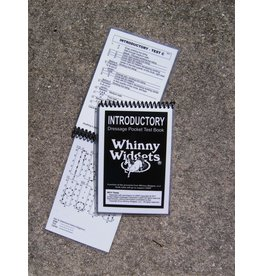 Whinney Widgets Intro Level Dressage Test Book