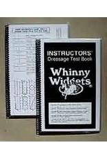 Whinney Widgets Dressage Instructors Test Book
