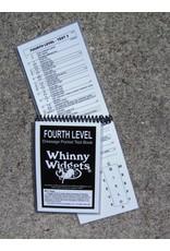 Whinney Widgets Fourth Level Dressage Test Book