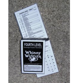 Whinney Widgets Fourth Level Dressage Test Book