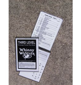 Whinney Widgets Third Level Dressage Test Book