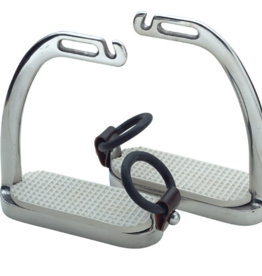 """Shires 4.5"""" Peacock Safety Stirrups"""