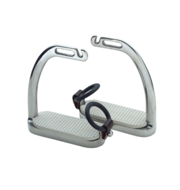 "Shires 4.5"" Peacock Safety Stirrups"