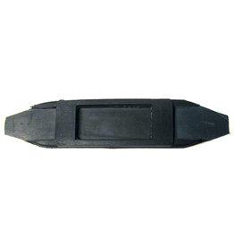 Intrepid International Rubber Curb Chain Guard Black