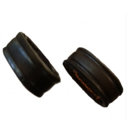 """Schutz 1/2"""" Leather Keeper Black"""