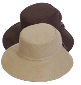 BC Hats Reversible Cotton Hat with Pony Tail Hole