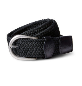 Ariat One Rail Woven Belt Black