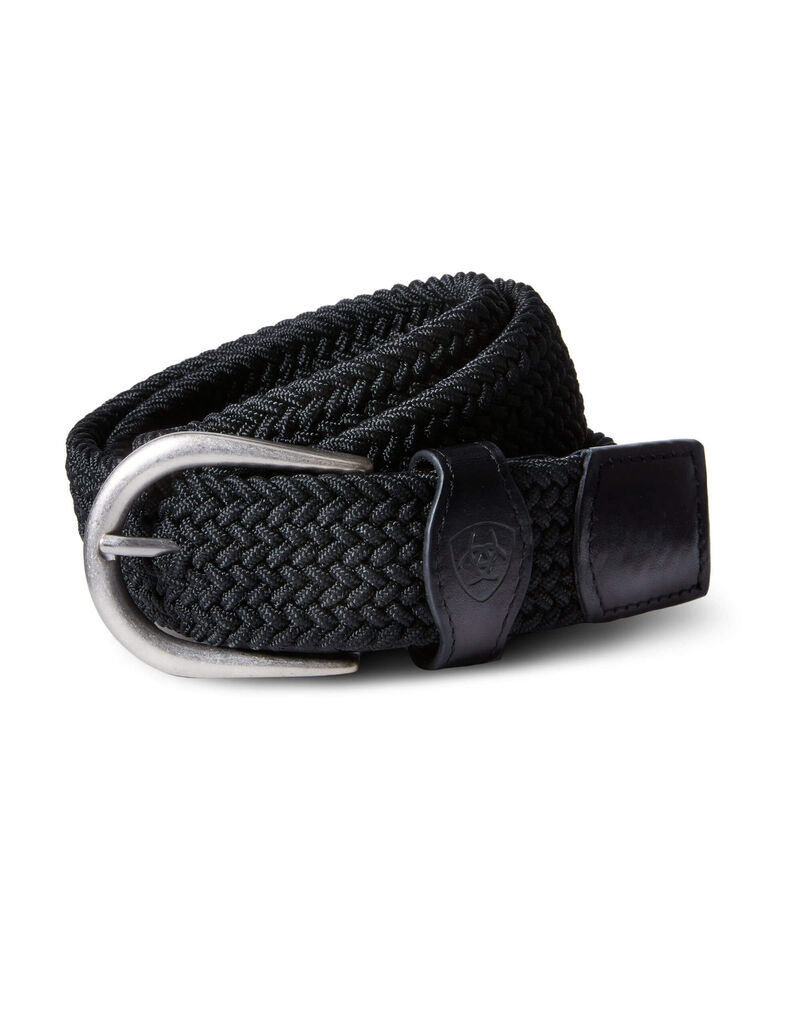 Ariat Ariat One Rail Woven Belt Black
