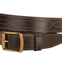 Tory Leather Havana Repeat Stitch Belt