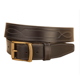 Tory Leather Havana Repeat Stitch Belt