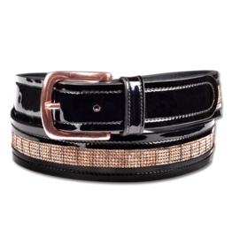 Waldhausen Rose Gold Leather Belt