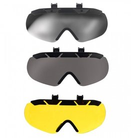 ERS Klick and Go Mirrored Sunglasses