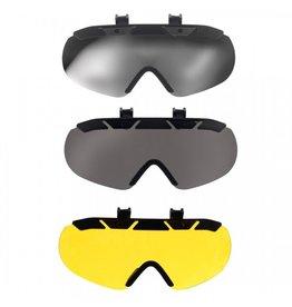 One K Klick and Go Mirrored Sunglasses