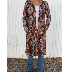 Texas True Threads Long Sleeve Kimono