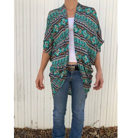 Texas True Threads Short Sleeve Kimonos