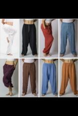 Sure Design Wholesale Soft Cotton Yoga Harem Pants