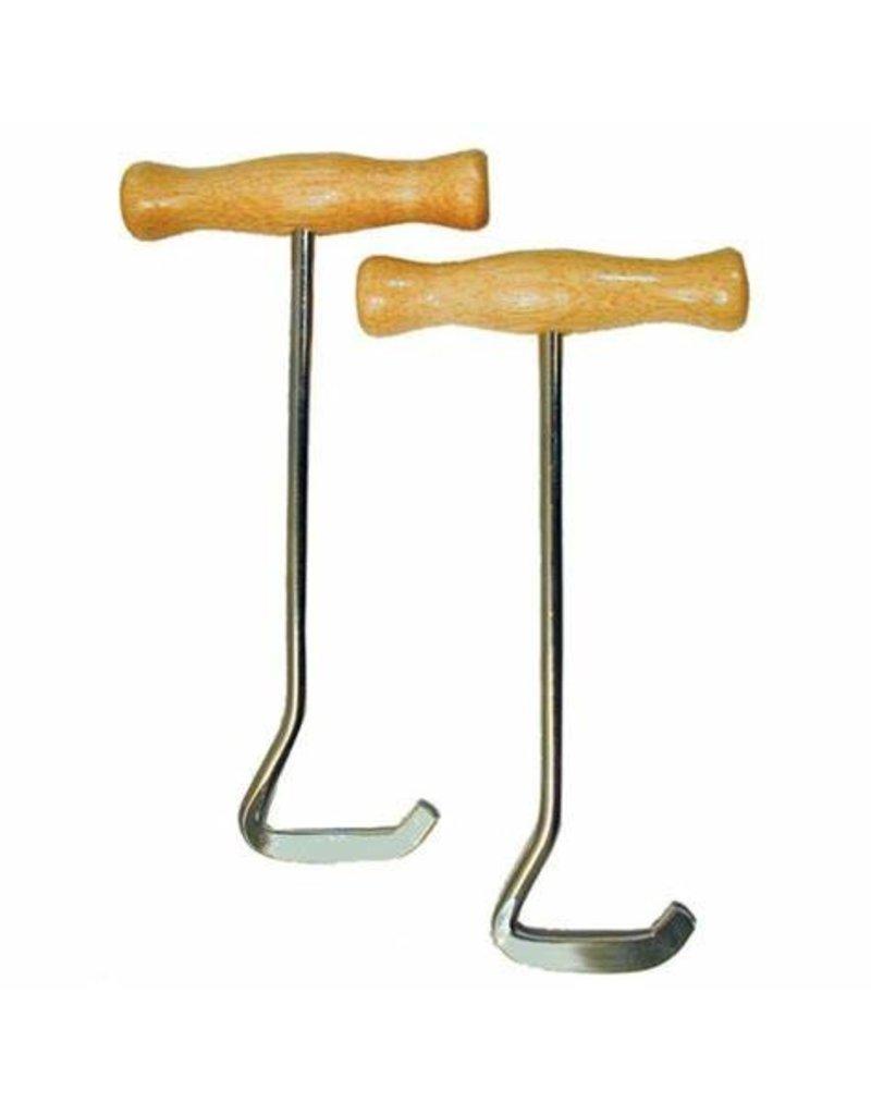 GT Reid Wooden Handle Boot Pulls