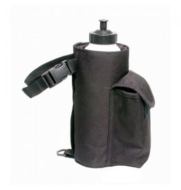 JT Water Bottle / Cell Phone Combo Pouch Black