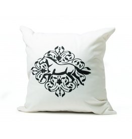 Kelley Gallop Floral Throw Pillow