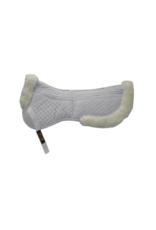 Eurow Reilly Corp Large Wool Deluxe Classic Half Pad White