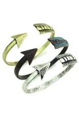 Wyo-Horse Inc Arrow Cuff Silver Bracelet