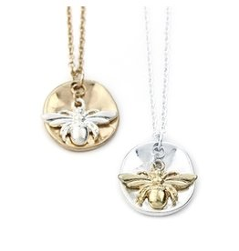 Wyo-Horse Inc Honey Bee Silver Necklace Set